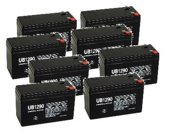 UB1290 8 Pack for APC RBC105 Battery
