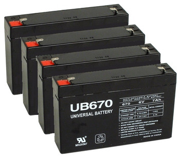 Replacement for APC RBC34 UPS Backup Batteries