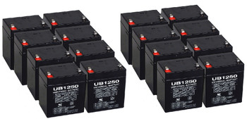 Replacement for APC RBC44 Batteries