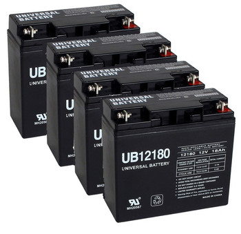Replacement for APC RBC55 Batteries