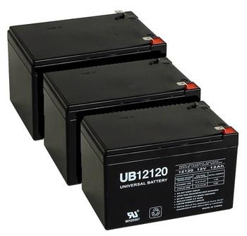 12 Volt 12 Ah UPS Battery - 3 pack