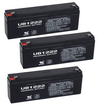 12 Volt 2.2 Ah SLA Battery - 4 Pack