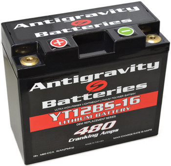 YT12BS AntiGravity Lithium Battery