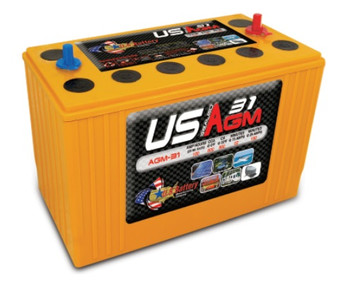 US AGM 31 - Group 31 Deep Cycle Battery