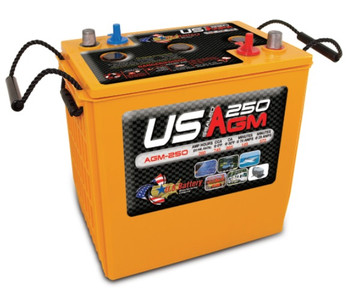 US AGM 250 Deep Cycle Battery