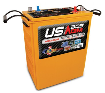US AGM 305 - 6 Volt Industrial Battery