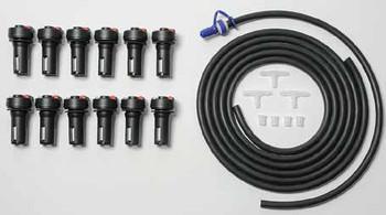 Deka Forklift Battery Watering System for 12 Cells - TB4 Valves