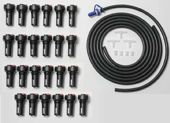 C&D Forklift Battery Watering System for 24 Cells - TB4 Valves