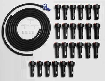 Douglas Forklift Battery Watering Kit for 24 Cells - TB5 Valves