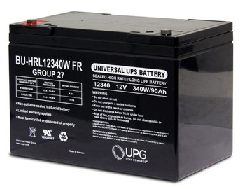 BU-HRL12340W FR - Group 27 UPS Battery