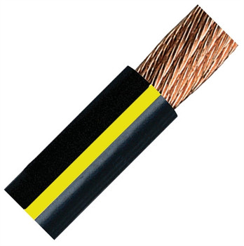 QuickCable 4/0 Gauge Black Battery Cable (500 ft. Roll)
