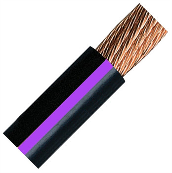 QuickCable 3/0 Gauge Black Battery Cable (50 ft. Roll)