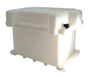 6V/GC2 Dual Battery Box - White (120176-001)