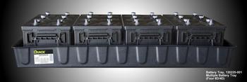 8D/4D Battery Tray - 4 Battery Tray