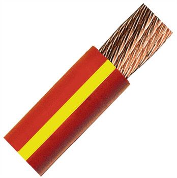 QuickCable 4/0 Gauge Red Battery Cable (100 ft. Roll)