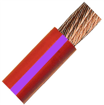 QuickCable 3/0 Gauge Red Battery Cable (100 ft. Roll)