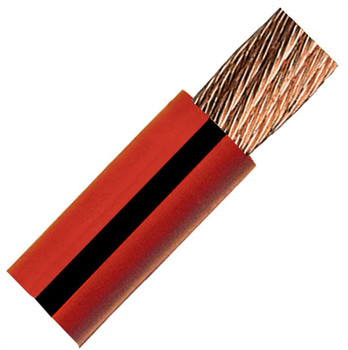 QuickCable 1/0 Gauge Red Battery Cable (25 ft. Roll)