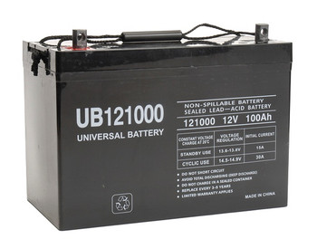 Big Joe PTE30-95AH Battery Replacement - 12 Volt 100 Ah AGM Battery (45978)