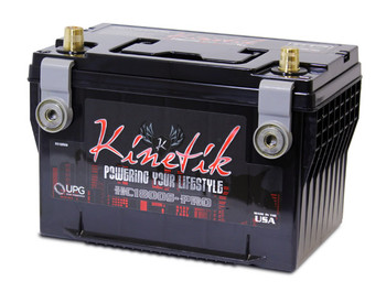 KINETIK BATTERY HC1800S-PRO SLA AGM Car Audio Battery