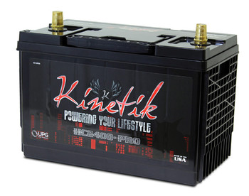 KINETIK BATTERY HC2400-PRO SLA AGM Car Audio Battery