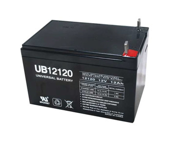 12 Volt 12 Ah SLA Battery - UB12120 Nut & Bolt (40842)