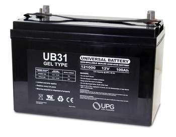 12 Volt 100 Ah Gel Cell Sealed Lead Acid Battery