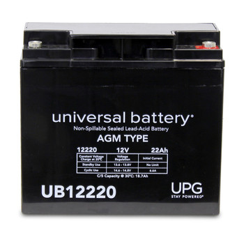 12 Volt 22 Ah SLA Battery - UB12220IT