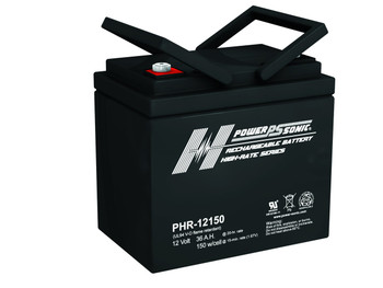 Power-Sonic PHR-12150 - 12 Volt 36 AH AGM Battery