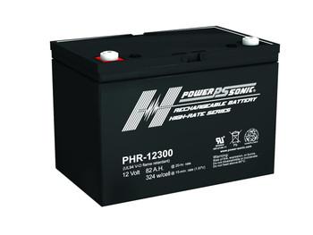 Power-Sonic PHR-12300 - 12 Volt 82 AH Power Sonic AGM Battery
