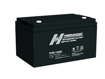 Power-Sonic PHR-12400 - 12 Volt 110 AH Power Sonic AGM Battery