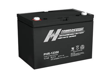 PHR-12350 - 12 Volt 95 AH Power Sonic AGM Battery