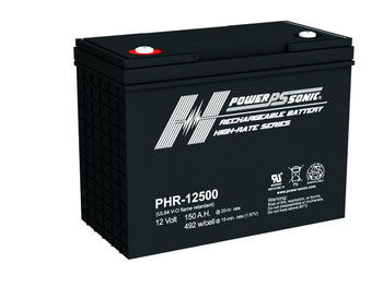 PHR-12500 - 12 Volt 150 AH Power Sonic AGM Battery