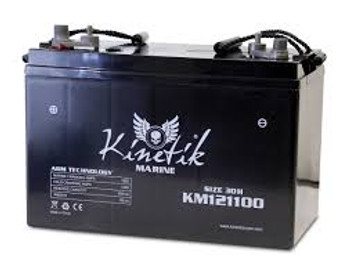 Kinetik Marine 12 Volt Battery - UB121100 - Deep Cycle AGM