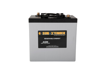 Sun Xtender PVX-2240T 6 Volt Deep Cycle AGM Battery (group GC2)