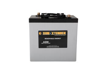 Sun Xtender PVX-2240T 6 Volt Deep Cycle AGM Battery (group GC2)