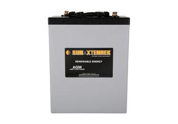 Sun Xtender PVX-3050T 6 Volt Deep Cycle AGM Battery (group GC2 Tall)
