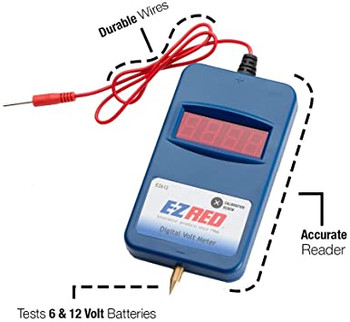 Digital Battery Voltmeter
