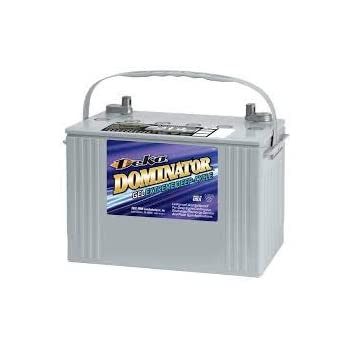 Deka 8G27M - 12 Volt Group 27 Deep Cycle Gel Marine Battery