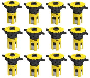 Trojan RE L16 24 Volt H20 Kit For 6 Volt Batteries By Profill
