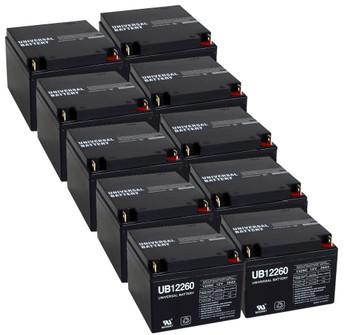 12 Volt  26 Ah UPS Battery - 10 Pack