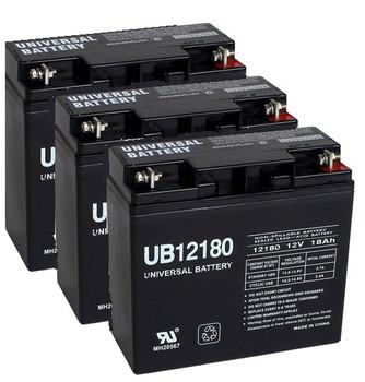 12 Volt 18 Ah UPS Batteries - 3 Pack