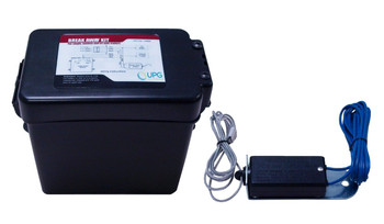 Trailer Breakaway Kit w/ Charger & Switch (TOPLOADING - Includes Battery)