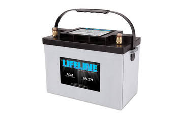 Upright AB46 Boom Lift Battery (9389)