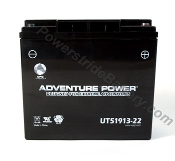 BMW R50/5 Motorcycle Battery (1970-1973) (01-356-42124)