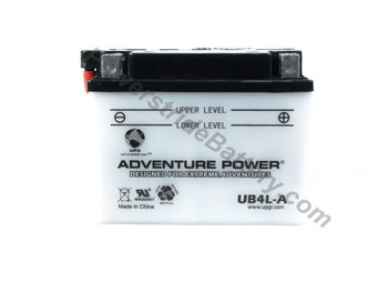 "Please Search ""Adventure Power UT4L AGM Battery - YTX4L-BS"" As Suitable Replacement **(Discontinued)** (112619)"