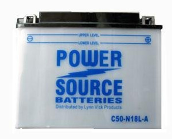 C50-N18L-A Motorcycle Battery