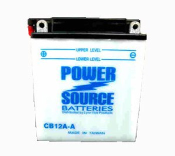 CB12A-A Motorcycle Battery w/ Sensor