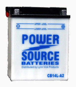 CB14L-A2 Motorcycle Battery w/ Sensor