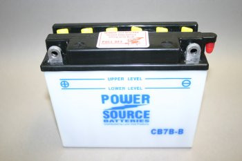 CB7B-B Motorcycle Battery