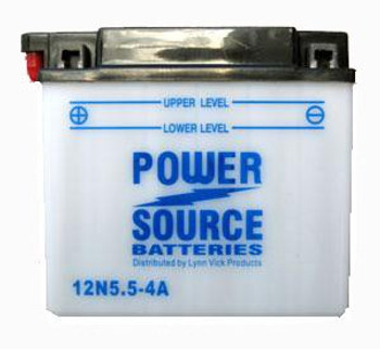 12N5.5-4A Battery by Power Source